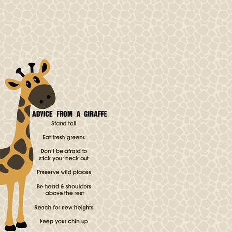 Giraffe: Advice From 12 x 12 Paper