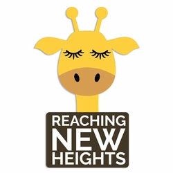 Giraffe: New Heights Laser Die Cut