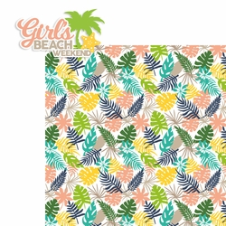 Girl's Beach Weekend 2 Piece Laser Die Cut Kit