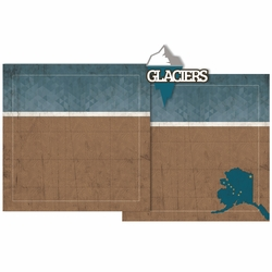 Glaciers Double Page Layout Kit