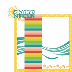 Good Times in the Sun 2 Piece Laser Die Cut Kit