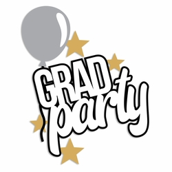 Grad: Grad Party Laser Die Cut