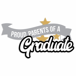 Grad: Proud Parents Laser Die Cut