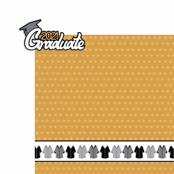 Graduation: 2021 Graduate 2 Piece Laser Die Cut Kit