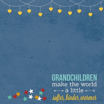 Grandparents: Grown From Love 12 x 12 Paper