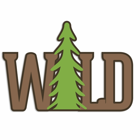 Great Outdoors: Wild Laser Die Cut
