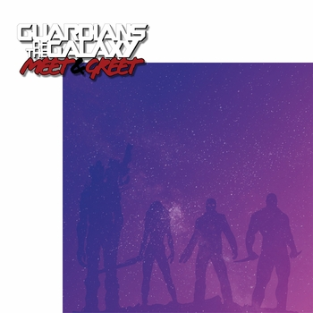 Guardians: Meet and Greet 2 Piece Laser Die Cut Kit