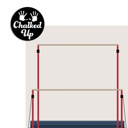 Gymnastics: Chalked up 2 Piece Laser Die Cut Kit
