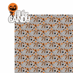 Halloween: All the candy 2 Piece Laser Die Cut Kit