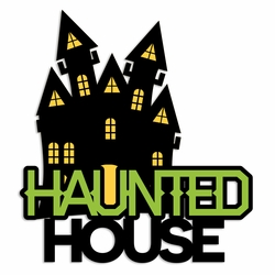Halloween: Haunted House Laser Die Cut
