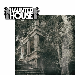 Halloween Horror: Haunted House 2 Piece Laser Die Cut