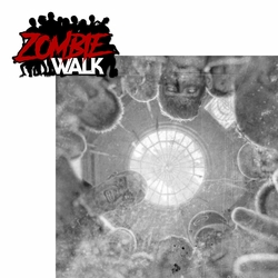 Halloween Horror: Zombie Walk 2 Piece Laser Die Cut