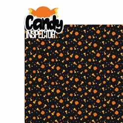 Halloween Night: Candy Inspector 2 Piece Laser Die Cut Kit