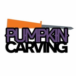 Halloween: Pumpkin Carving Laser Die Cut