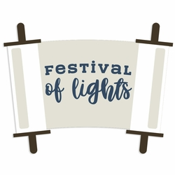 Hanukkah: Festival of Lights Laser Die Cut
