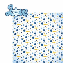 Hanukkah: Love 2 Piece Laser Die Cut Kit