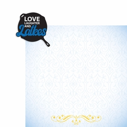 Hanukkah: Love Laughter and Latkes 2 Piece Laser Die Cut Kit