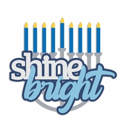 Hanukkah: Shine Bright Laser Die Cut