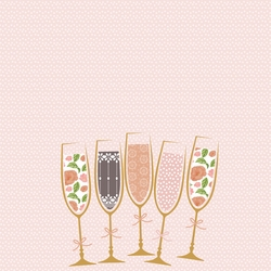 Happy Birthday drinks Print and Cut 12 x 12 Paper
