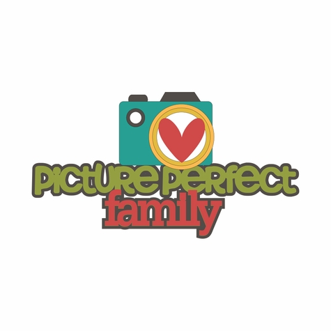Happy Family: Picture Perfect Family Laser Die Cut