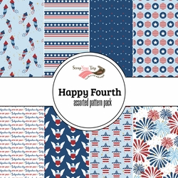 Happy Fourth Assorted 12 x 12 Paper Pack