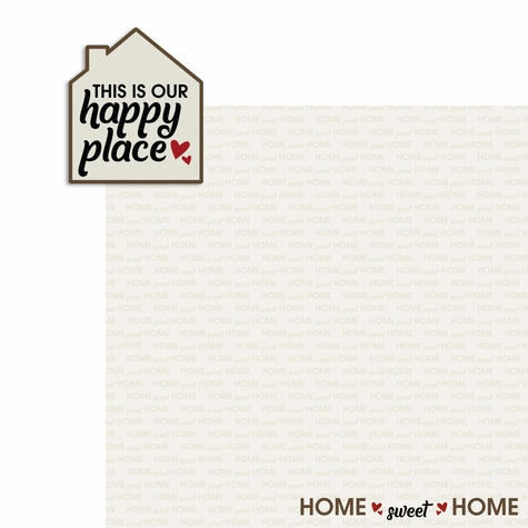 Happy Place 2 Piece Laser Die Cut Kit