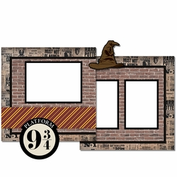 Harry Potter: Platform 9 3/4 2 Page Print and Cut Kit