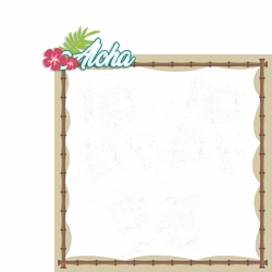 Hawaii: Aloha 2 Piece Laser Die Cut Kit