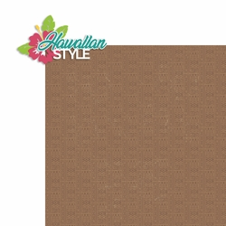 Hawaii: Hawaiian Style 2 Piece Laser Die Cut Kit