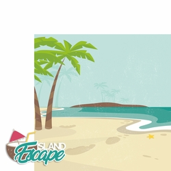Hawaii: Island Escape 2 Piece Laser Die Cut Kit