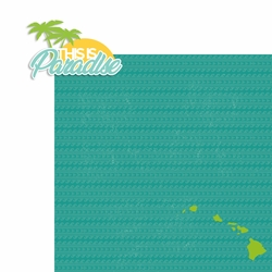 Hawaii: This is Paradise 2 Piece Laser Die Cut Kit