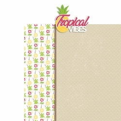 Hawaii: Tropical Vibes 2 Piece Laser Die Cut Kit