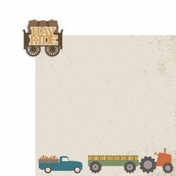 Hay Ride 2 Piece Laser Die Cut Kit