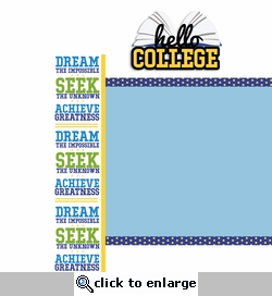 Hello College Page Layout