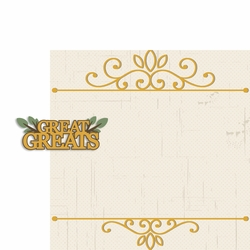 Heritage: Great Greats 2 Piece Laser Die Cut Kit