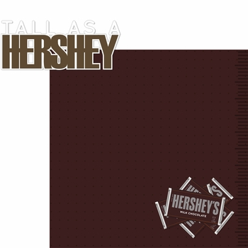 Hershey World: Tall As A Hershey 2 Piece Laser Die Cut Kit