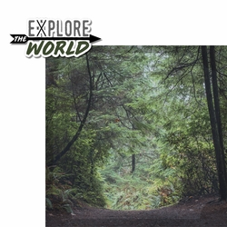 Hiker's Path: Explore The World 2 Piece Laser Die Cut Kit