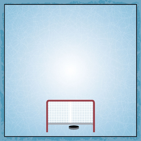 Hockey Life: Goals 12 x 12 Paper