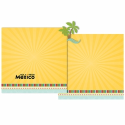 Hola from Mexico Double Page Layout Kit