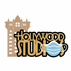 Hollywood Studios Mask Laser Die Cut