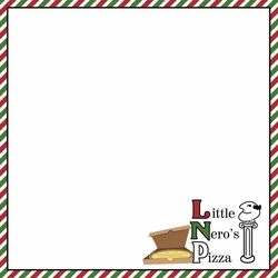 Home Alone: A Lovely Cheese Pizza 12 x 12 Paper