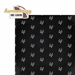 Homecoming: Big Game 2 Piece Laser Die Cut Kit