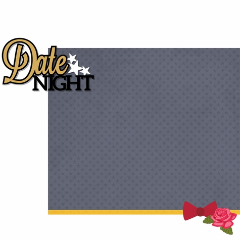 2SYT Homecoming: Date Night 2 Piece Laser Die Cut Kit