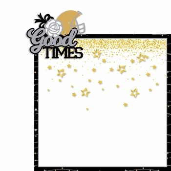 Homecoming: Good Times 2 Piece Laser Die Cut Kit
