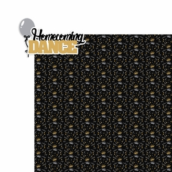 Homecoming: Homecoming Dance 2 Piece Laser Die Cut Kit