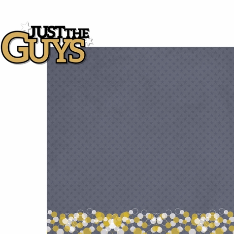 2SYT Homecoming: Just The Guys 2 Piece Laser Die Cut Kit