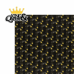 Homecoming: King and Queen 2 Piece Laser Die Cut Kit
