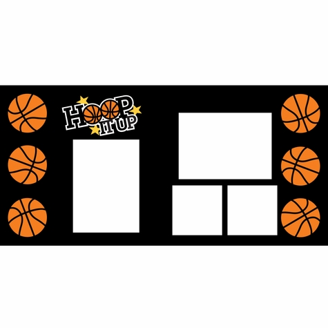 Hoop It Up 2 Page Layout Kit
