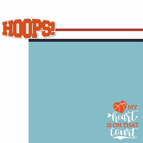 Hoop Star: Hoops 2 Piece Laser Die Cut Kit