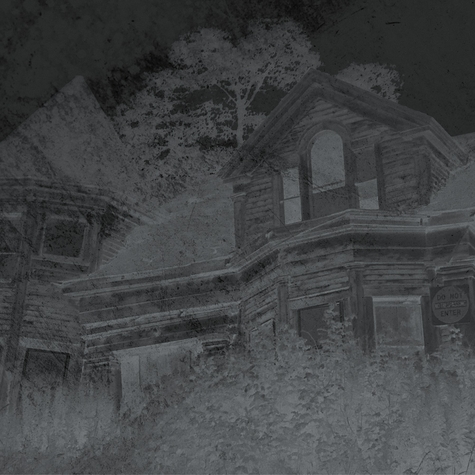 Horror: House on the Hill 12 x 12 Paper